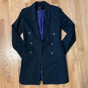 H&M Long Line Pea coat